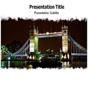 London Powerpoint Template   London Powerpoint (PPT) Backgrounds