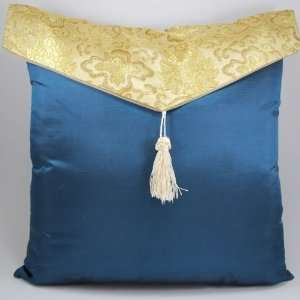 18x18 Decorative Silk Throw Pillow Cover