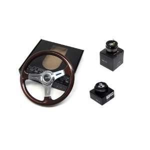 86 93 Toyota Supra NRG 350MM Steering Wheel + Hub + Quick