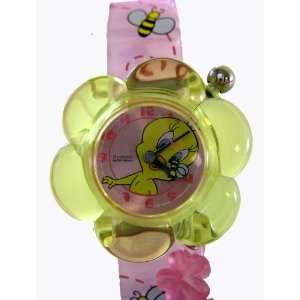 Looney Tunes Tweety Bird Watch   Flower Shape: Toys & Games