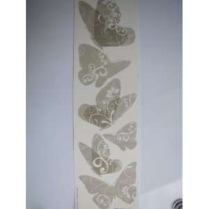 Wall Creations, Removable Stickers, Translucent Butterflies Home