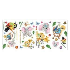 Zootles Jungle Animals Appliques Wall Stickers Old Design