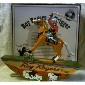 Roy Rogers & Trigger Wind up Tin Toy Toys & Games
