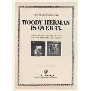 1970 Woody Herman Light My Fire Heavy Exposure Print Ad