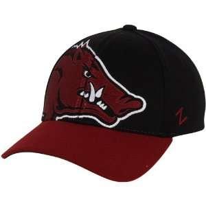 Razorbacks Hats  Zephyr Arkansas Razorbacks Masquerade Z Fit Hat