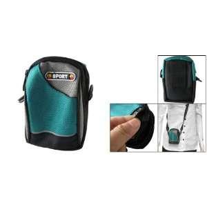 Gino Dual Zippers Tricolor Nylon Mini Digital Camera Bag w