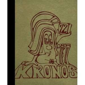 (Reprint) 1972 Yearbook University High School, Spokane