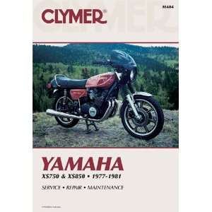 Clymer Yamaha Triples 750 850cc Manual M404 Automotive