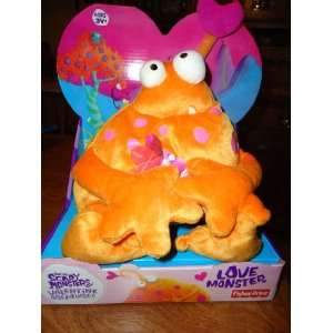 Otto the Not so Scary Love Monster Valentine Creatures Toys & Games