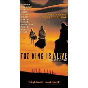 The King Is Alive [VHS] Miles Anderson, Romane Bohringer