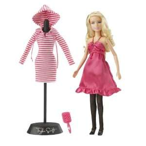 Taylor Swift Pretty in Pink Fashion Collection Doll  Toys & Games