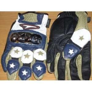 2008 Kevlar RAGE FREESTYLE Mens LARGE Motorcycle Armor Glove (Dark