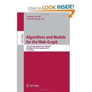 Algorithms and Models for the Web Graph: 5th International