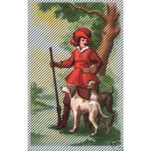 Single Victorian Hunter with Dog Swap Playing Card Everything Else