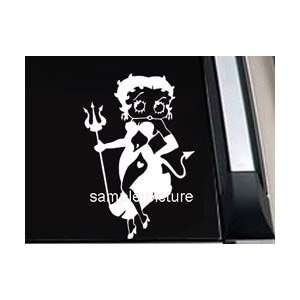 Betty Boop Devil Girl Car Window Truck Vinyl Decal Sticker  SBBD006  6