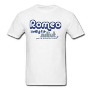 Mens Romeo Looking For Juliet T Shirt Case Pack 25