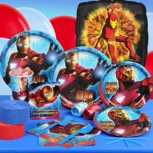 Iron Man 2 Standard Party Pack for 8 guests Everything