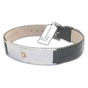 Amazing Stainless Steel Unisex Bracelet with Star Shaped