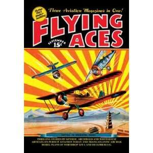 Walls 360 Wall Poster/Decal   Flying Aces over the Rising