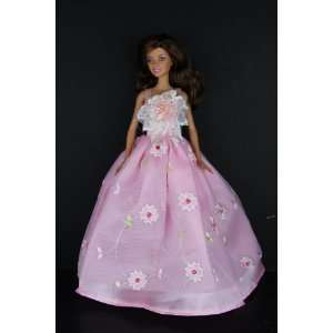 Lace Flower on the Botice Made to Fit the Barbie Doll Toys & Games