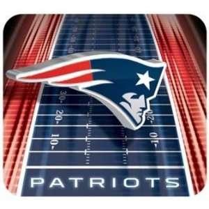 NFL Football Team Logo Vortex Sublimated Mouse Pad   New England