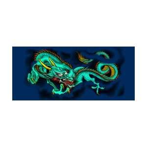 Green Dragon Rear Window Graphic