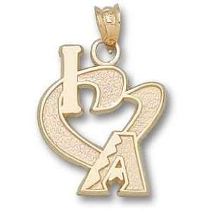 Arizona Diamondbacks I Heart A 3/4 Charm/Pendant
