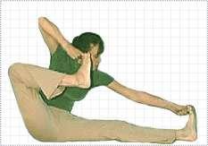 Akarna dhanura asana   Shooting Bow Posture   Yoga Postures Step By