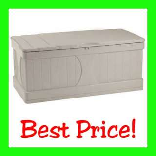 LARGE OUTDOOR PATIO DECK STORAGE BOX CHEST TRUNK NEW!!!