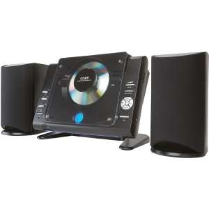 cx cd377blk micro cd player stereo system with am fm tuner item yyi1