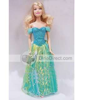 Pretty Princess Strapless Dress Barbie Doll Toy   DinoDirect