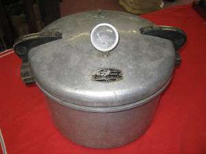 Vintage Magic Seal Pressure Cooker No.7 16 Gauge