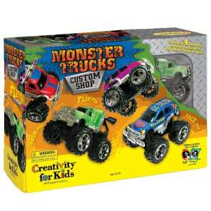 Creativity for Kids Monster Truck Custom Shop Activity, 74807