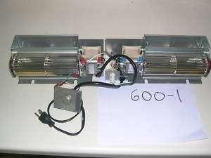 Fireplace Blower Fan Kit Kozy Heat 600 1 (2) 110 cfm
