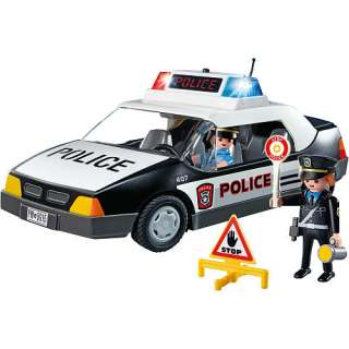 Playmobil Police Car   Playmobil   Fire, Police & Rescue Figures