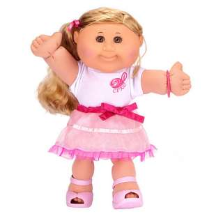 Cabbage Patch Kids Doll   Blonde Hair  Girly Girl   Jakks Pacific
