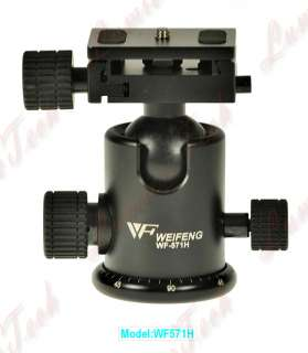 WF571H Camera Tripod Drag Ball Head Sony