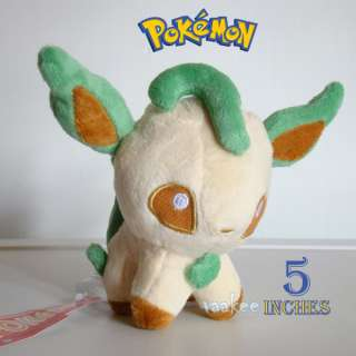Nintendo Pokemon Plush Toy Mini Leafeon 5 Collectible Soft Stuffed