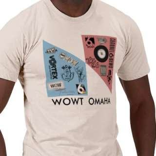 Vintage WOWT logos Tee Shirt from Zazzle