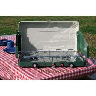 14226 High Output Dual Burner Propane Camping Stove NEW