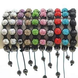 Bracelet Shamballa pour enfants par KurtzyTM en 12 couleurs pour