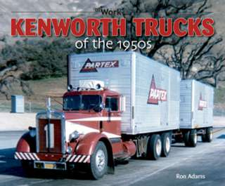 Kenworh rucks of he 1950s cabover 18 wheeler big rig il cab 853