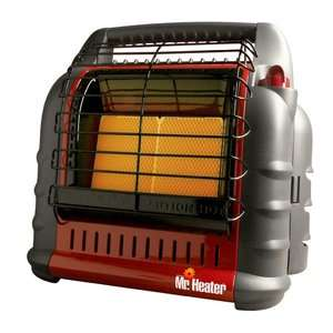 . Heater 18,000 BTUH Big Buddy Indoor/Outdoor Propane Heater Heating