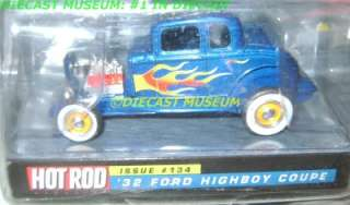 1932 32 FORD HIGHBOY COUPE HOT ROD MAGAZINE DIECAST