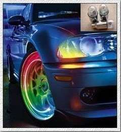 Colorful Car Bike Bicycle Tire Wheel Valve Led Light