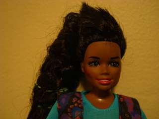 1987 Mattel Black Barbie African American + CLOTHES 80s Vintage Old