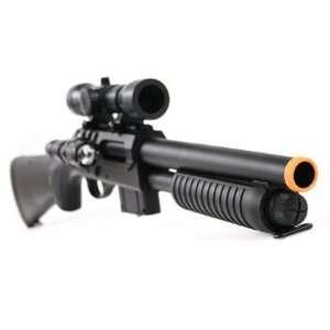 VALUE PACK Double Eagle M47 A2 AWESOME Airsoft Gun Shotgun w/ LASER