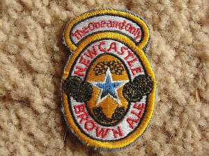 New Castle Brown Ale,ADVERTISING BEER CO.IMPORT PATCH
