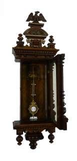 Beautiful Antique German wall clock Cooperation Gustav Becker/Carl