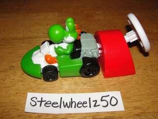 Yoshi Mario Kart Car Burger King Toy 2008 Nintendo Cart